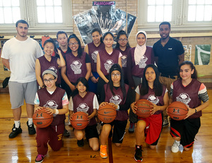 NIA/IS 227 Girl's Basketball Team